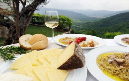 Istrian cuisine will enchant you with its variety and balance. Sometimes you will experience the Mediterranean side of Istrian cuisine; at other times, its continental side. Adapting readily to the seasons of the year, it always uses the best olive oils and a variety of excellent wines.