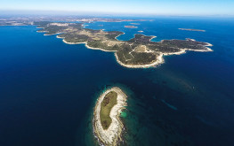 The Kamenjak Peninsula or Cape Kamenjak also known as the Peninsula of Premantura (Punta) is the southernmost cape of Istria. Kamenjak is a protruding piece of land delving deep into the sea, some six kilometers long with the average width of about a kilometre.